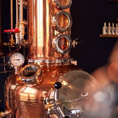 Knut Hansen Dry Gin aus Hamburg 0,5l 42% Vol. - 1