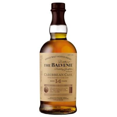 Balvenie Single Malt Whisky 14 Jahre Carribean Cask 0,7l 43% Vol. - 1