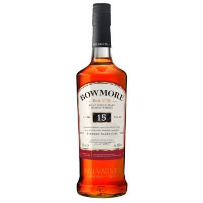 Bowmore 15 Jahre Single Malt Whisky 0,7l 43% Vol. - 1