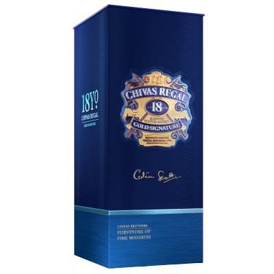 Chivas Regal Gold Signature Whisky 18 Jahre 0,7l 40% Vol. - 1