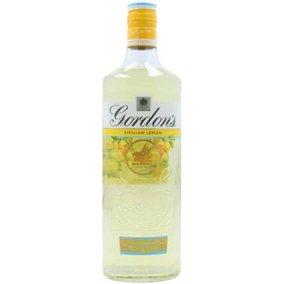 Gordon's Sicilian Lemon Destilled Gin 0,7l  37,5% Vol. - 0