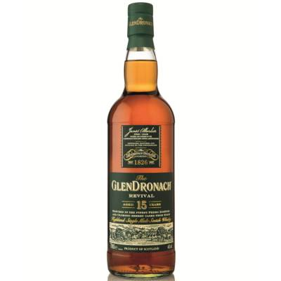 The Glendronach Revival Single Malt Whisky 15 Jahre 0,7l 46% Vol. - 1