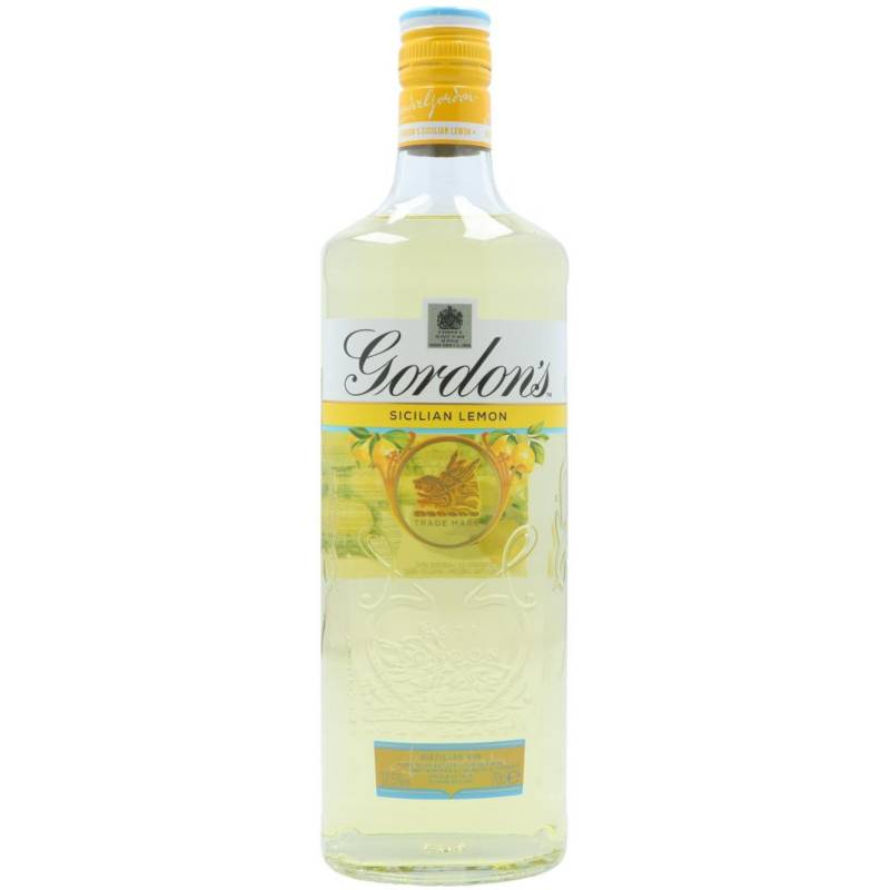 Gordon's Sicilian Lemon Destilled Gin 0,7l  37,5% Vol.