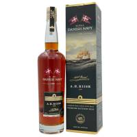 A.H. RIISE Royal Danish Navy Rum in Geschenkpackung 0,7l  40% Vol.